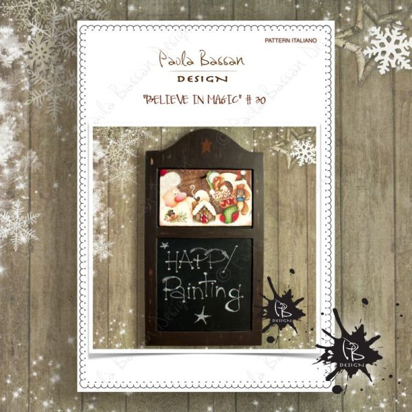 pattern-country-painting-italiano-blackboard-winter-christmas-santa-gingerbread-ginger-house-vines-berries-joy-christmas stocking-paola-bassan-design-hand-made