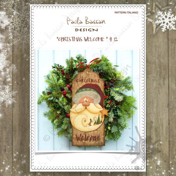 pattern-country-painting-italiano-fuoriporta-christmas-welcome-santa-snowman-paola-bassan-design-hand-made
