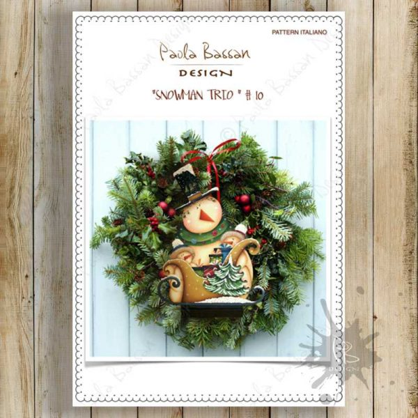 pattern-country-painting-italiano-fuoriporta- snowman-sled-winter-christmas-gift-Christmas-tree-paola-bassan-design-hand-made