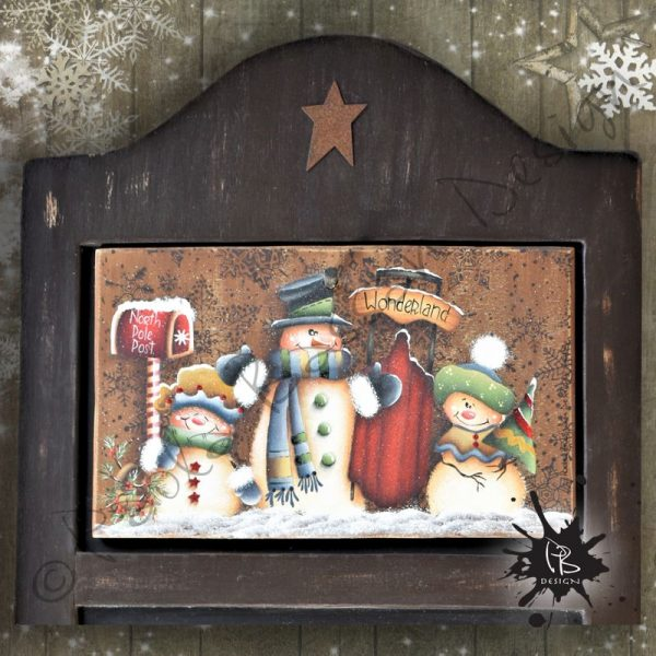 pattern-country-painting-italiano-blackboard-winter-christmas-snowman-sled-northpole-winter-worderland-rusty-star-berrier-vines-paola-bassan-design-hand-made