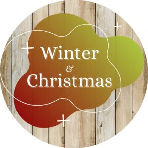 Pattern Country Painting Winter & Christmas